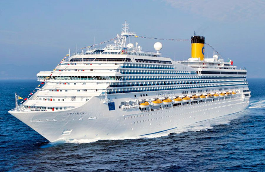 кораб Costa Smeralda cruise ship